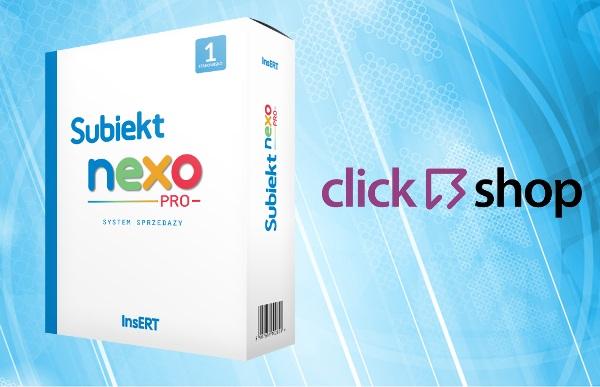 Subiekt NEXO + Click Shop