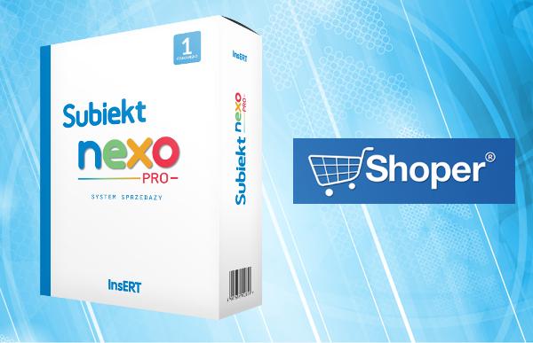 Subiekt NEXO + Shoper.pl