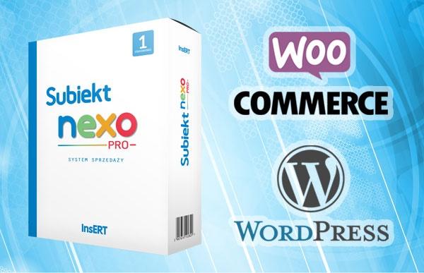 Subiekt NEXO PRO + WooComerce WordPress