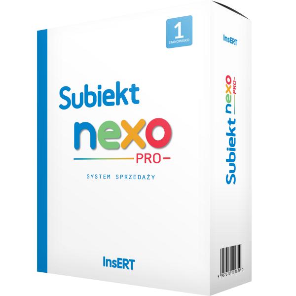 Subiekt_nexo_PRO_1_stanowisko_pudelko_nexo_gees
